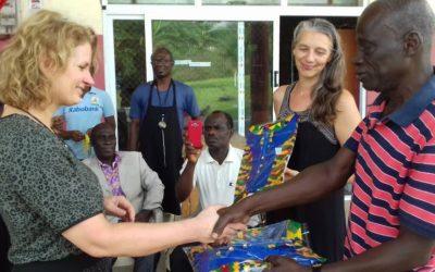 Bezoek Wilde Ganzen aan Ghana
