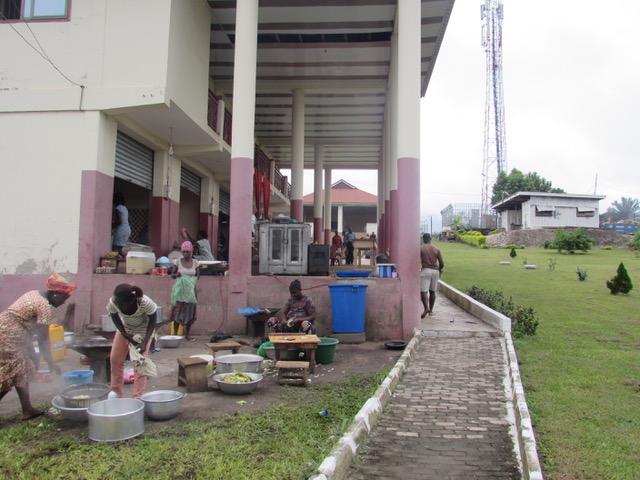 Buitenkeuken JCTC Kumasi